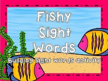 Fishy Sight Word Building Activity