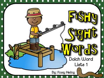 Fishy Sight Words List 1