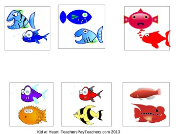 Fishy Sorting Activity