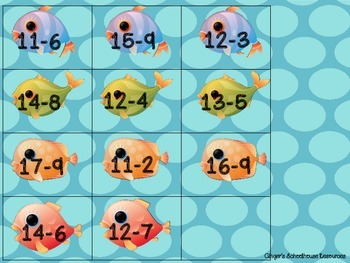 Fishy Subtraction within Twenty