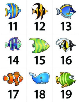 Fishy Teen number match