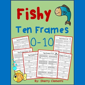 Fishy Ten Frames 0-10