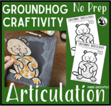 Groundhog Articulation: A SpeechTherapy Craft (Craftivity)