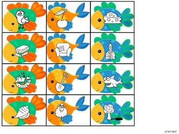 Fishy in the Tank Digraph Sort {th-sh-ch-wh}