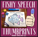 Fishy Thumbprints: A SpeechTherapy Craft Activity
