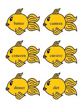 Fishy's Vocalic R -er