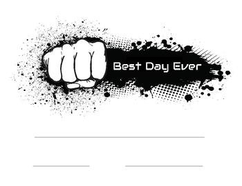 Fist Bump Certificates