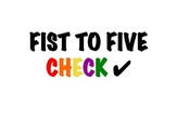 Fist To Five Assessment