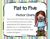Fist to Five Anchor Charts