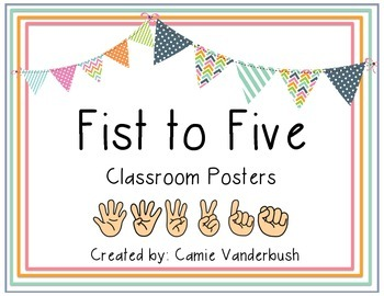 Fist to Five Posters