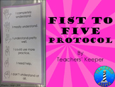 Fist to Five Protocol to Check Understanding and for Voting