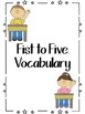 Fist to Five Vocabulary Posters