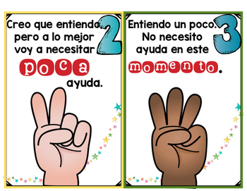 Fist to Five in Spanish