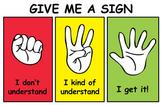 Fist to Five...Abbreviated