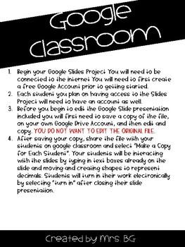 Fit Bit Project BUNDLE (Paper and Google Classroom)
