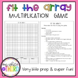 Fit the Array Game (Multiplication & Area)
