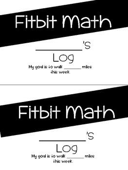 Fitbit Math Project (Paper Copy)