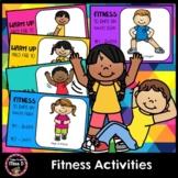 Fitness Activities - Indoor Workout, Indoor Recess