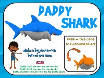 Fitness Adventure Series- Baby Shark Endeavor- Great for Distance Learning