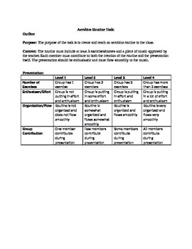 Fitness Aerobics Routine Assignment