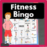Fitness Bingo - Brain Breaks or Physical Education
