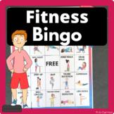 Fitness Bingo - Brain Breaks or Physical Education