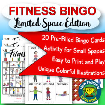 Fitness Bingo for Physical Education, Elementary
