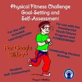 Fitness Challenge Goal-Setting and Self-Assessment Rubric