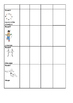 Fitness Challenge sheet