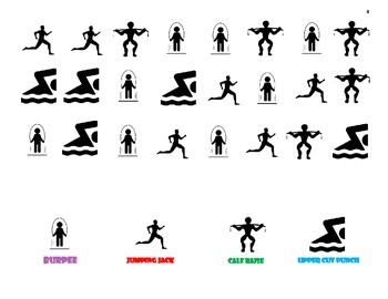 Fitness Charts Exercises