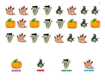 Fitness Charts Halloween