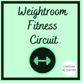 Phys Ed Weightroom Fitness Circuit