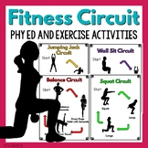 Fitness Circuit - Physical Education and Exercise Activities