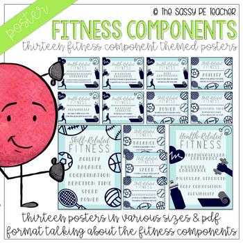 Fitness Component Poster Bundle