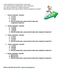 Fitness Components Worksheet and Quiz