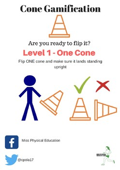 Fitness Cone Gamification