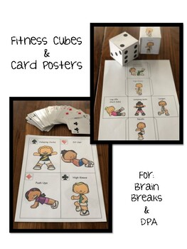 Fitness Cubes and Card Posters