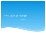 Fitness Days of the Week