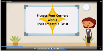 Fitness Four Corners with a Fruit Smoothie Twist Instructional Video