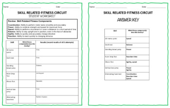 Fitness Fun: coordination, speed, power - test for it all!
