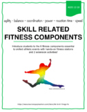 Fitness Fun: coordination, agility, strength - test for it all!