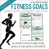 Fitness Goal Setting Lesson