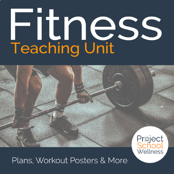 Fitness Lesson Plans - - Health & PE Unit Plan - Distance Learning