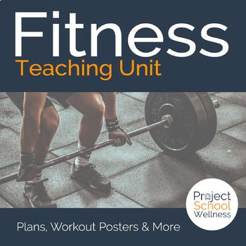Fitness Unit Plans a Skills-Based Health Education Lesson Plan Bundle