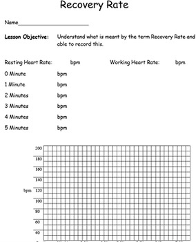 Fitness Lesson worksheets. 14 lesson pack