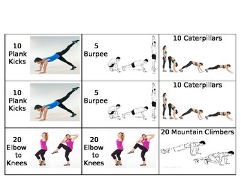 Fitness Memory Game
