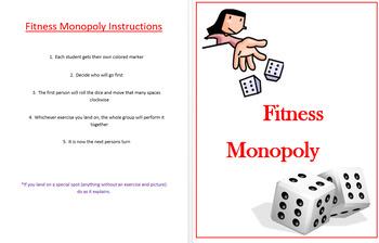 Fitness Monopoly