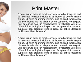 Fitness PPT Template