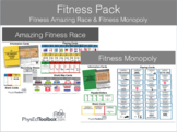 Fitness Pack - Amazing Fitness Race & Fitness Monopoly