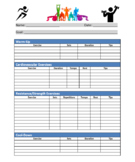 Fitness / Physical Education Program Template